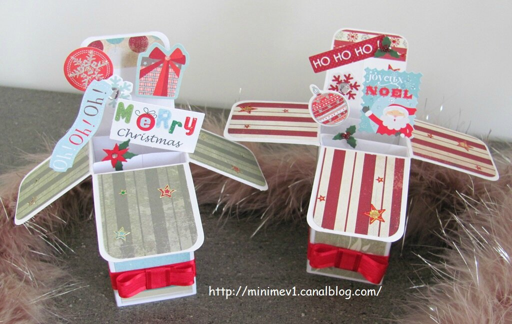 Cartes pop up noël