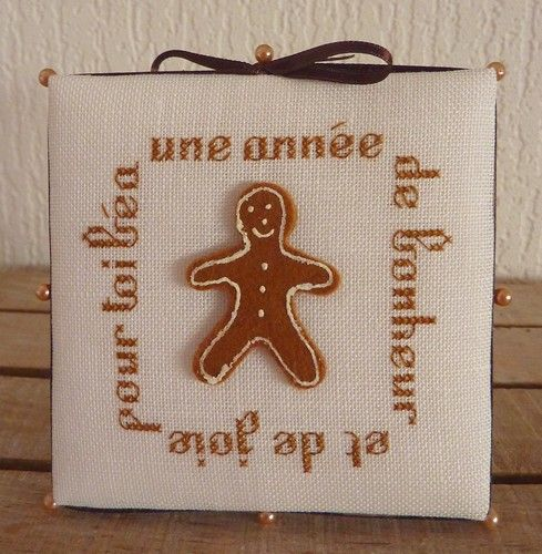 Pinkeep gingerbread man (pour Béa de Caracas)