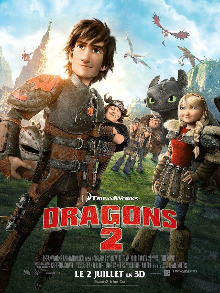 dragons 2 affiche1