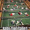 Baby-foot italien, par Bianca Argimon