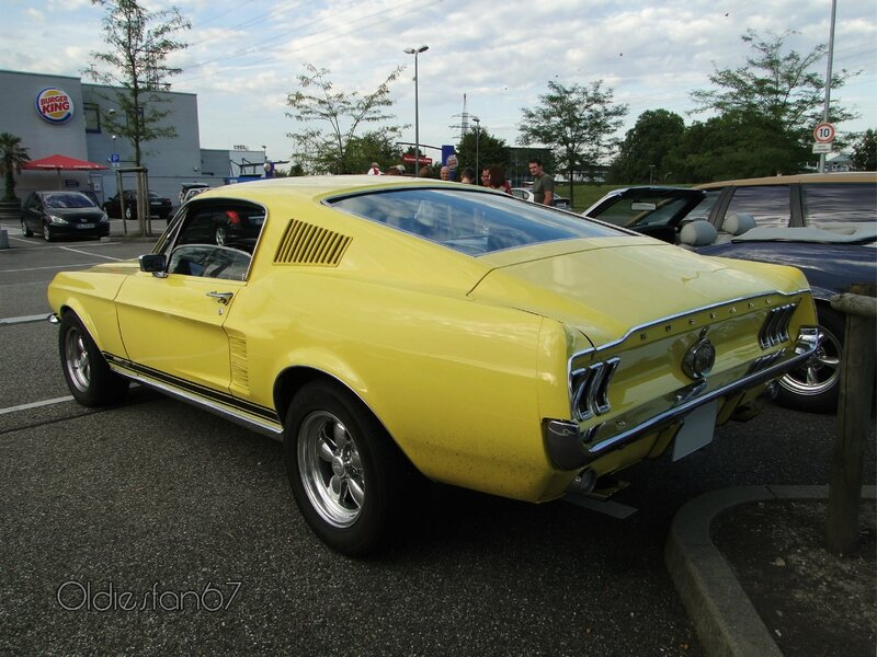 ford mustang gta fastback coupe 1967 b