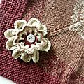 Châle Samarkand Fleur 1