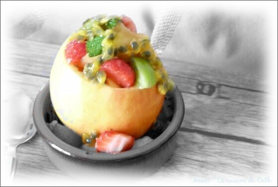 pomme salade de fruits4