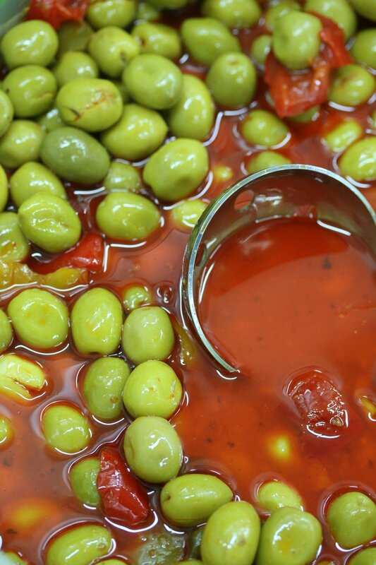 Univers primeurs olives