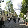 Le cour saint-emilion et le village de bercy, la nouvelle ville dans la ville.