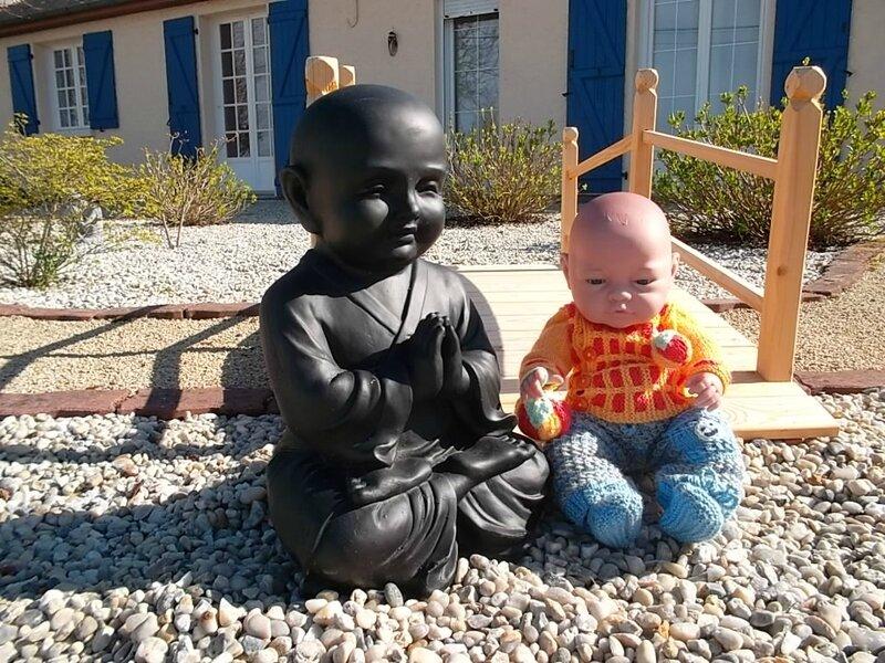 Bébé Bouddha & bébé Joey, ils sont adorables ( Myjanie)