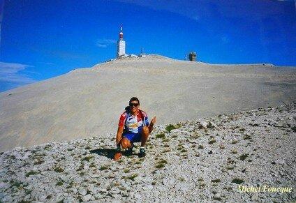 179) montée à vélo sur le Mont Ventoux