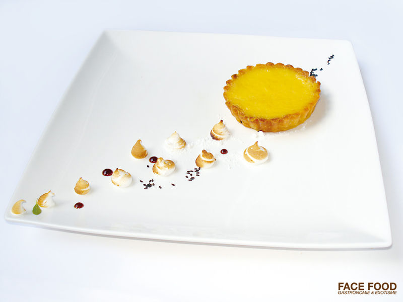 Recette facefood tarte l 39 orange s same meringue et galeffi face food - Recette cuisine gastronomique simple ...