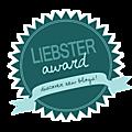 Premier prix reçu : un liebster award