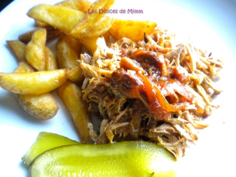 Pulled pork au sirop d'érable 4