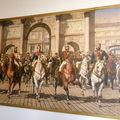 Tableau représentant une réunion de dignitaires Européens