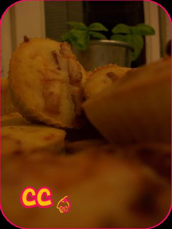 muffins salés lardon emmental