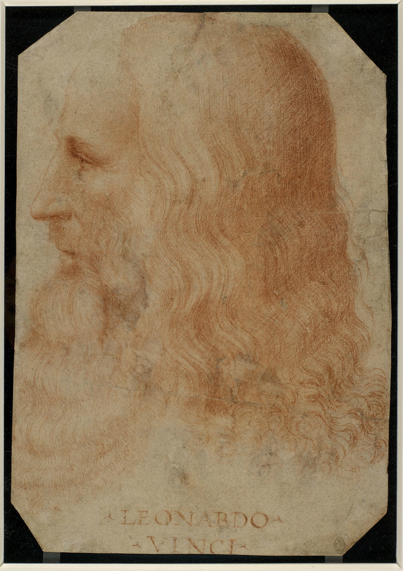 "Freud analyzed Da Vinci's subconscious through his painting ""The Virgin & Child with Saint Anne"""
