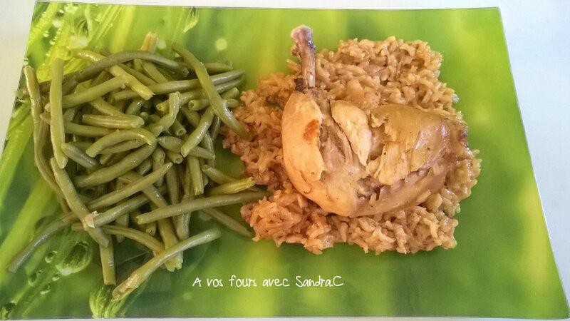 Cuisse de poulet au riz 2