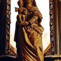 Hédé, église Notre Dame, statue de ND de Paimpont