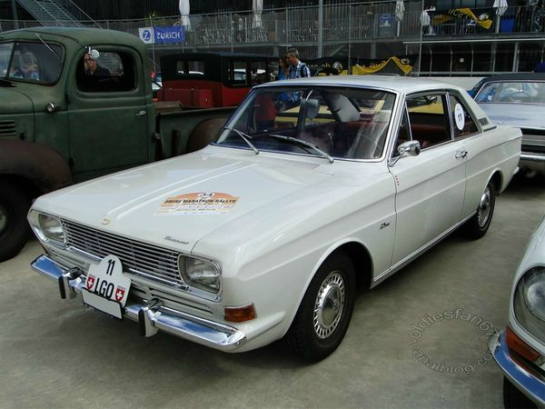 ford taunus 15m p6 ts coupe 1966 1970 a