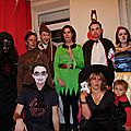 Week-end en photos : le repas d'halloween chez myriam