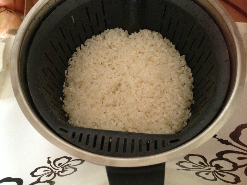 cuisson du riz vinaigr pour sushis thermomix la marmite de la ferme. Black Bedroom Furniture Sets. Home Design Ideas