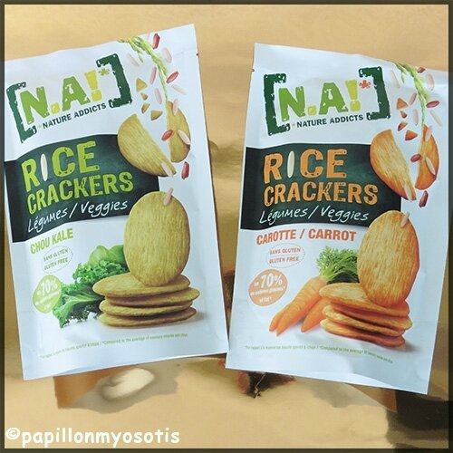 Nature Addicts Rice Crackers Veggie