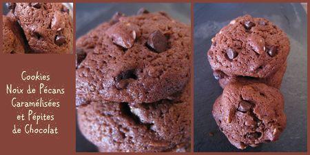 cookies noix de pécans caramélisées