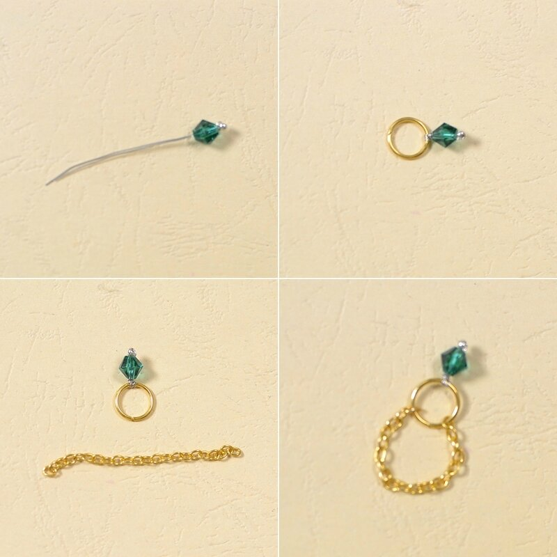 Fashionable Golden Chain Rings 2