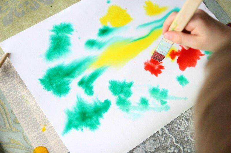 Aurore boréale colorée