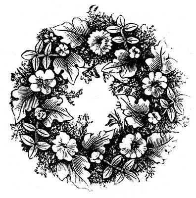 floral_wreath_vintage_image_graphicsfairy