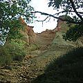 Détour de France => Colorado provençal (Rustrel)