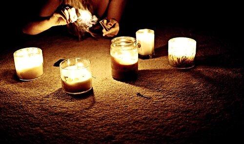 beach-blonde-candle-down-fire-girl-Favim
