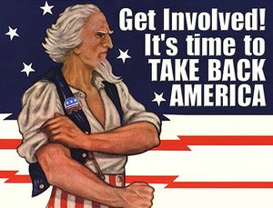 Tea Party, take back america