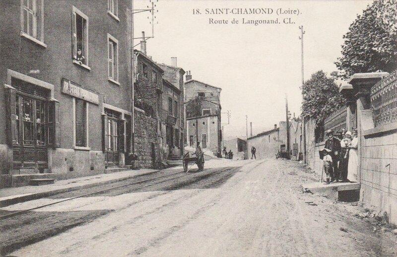 route de Langonand à Saint-Chamond