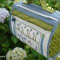 Jardin bleu en sac tout rond !