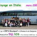 Voyage en Italie Mars 2008
