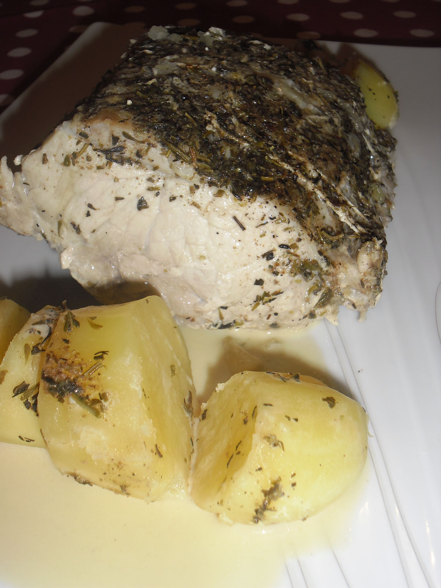 filet de porc vapeur et pommes de terre fondantes au lait avec ou sans thermomix la bonne. Black Bedroom Furniture Sets. Home Design Ideas