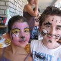 Arnaud et Sarah à la kermesse