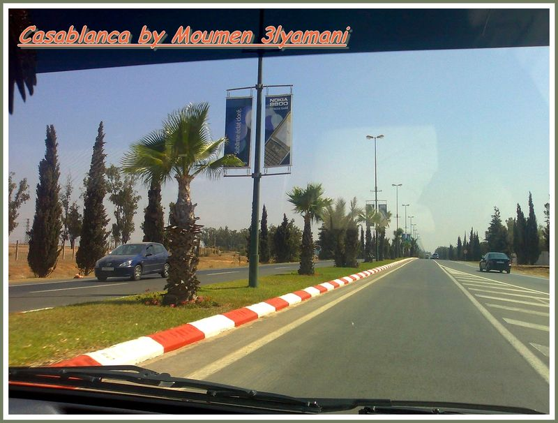 Route Aeroport Casablanca