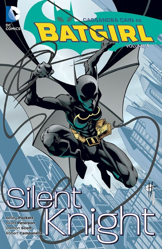 batgirl vol 1 silent knight TP