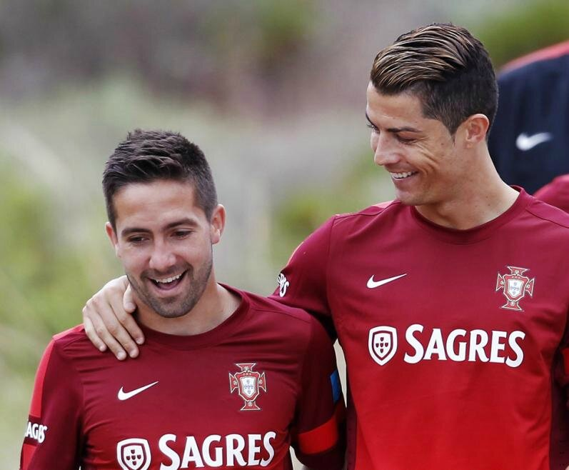 "Cristiano Ronaldo is a Great Player a Great Man "" declared the player AS Monaco Joao Moutinho"
