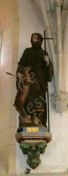 Le bienheureux Saint Gilles de Houesville