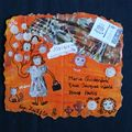 Mail-art pour Mariesel (recto) - 06/2009
