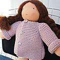 Tuto veste raglan pour poupée