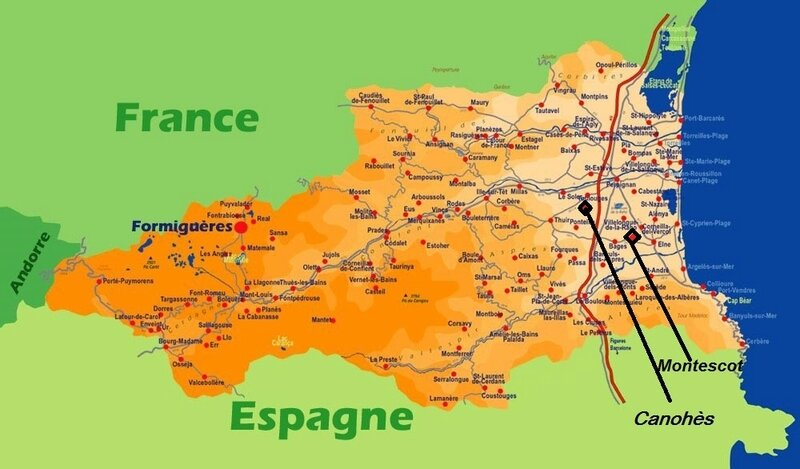 Carte PO Canohès