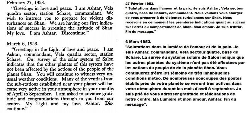Message 27 février au 6 mars 1953