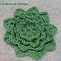petite fleur verte