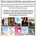 18e édition des rendez-vous d'automne au cinéma eden studio de briançon