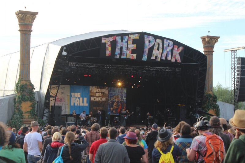 Glastonbury festival J+4 dimanche 28 juin 2015 the Park stage the Fall