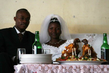 The_newly_weds_and_the_chicken