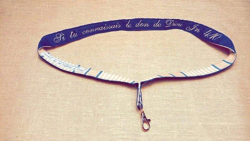 Porte-clés Don de Dieu