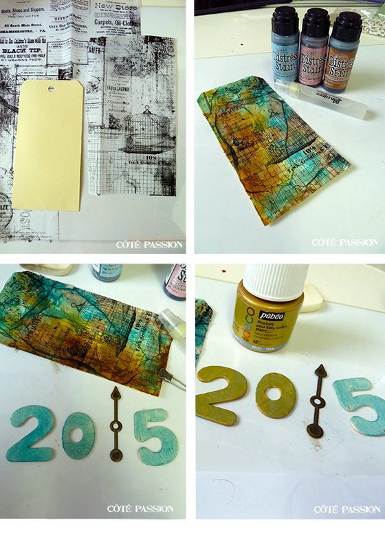 Coté Passion Tim Holtz Tag January