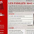 Maitron : fusillés 1940-44